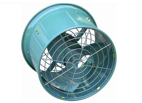 Heavy Duty Low Noise Drun Fan
